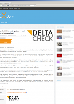 DELTA CHECK Media Tixio